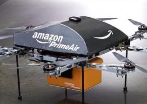 Prototipo dron para el transporte logístico propuesto por amazon