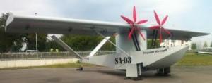 Vista lateral del SA-03