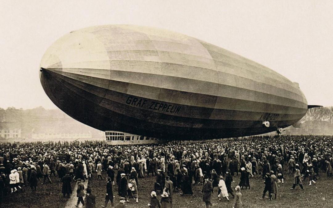 Zeppelin, un monstruo de la aeronautica