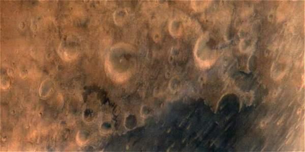 Foto de Marte tomada por el Mangalyaan