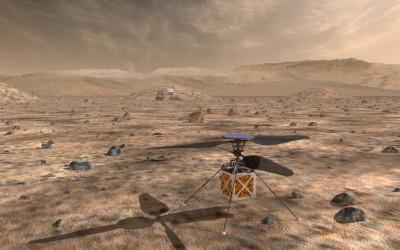 La NASA diseña un drone para ayudar en la exploración de Marte