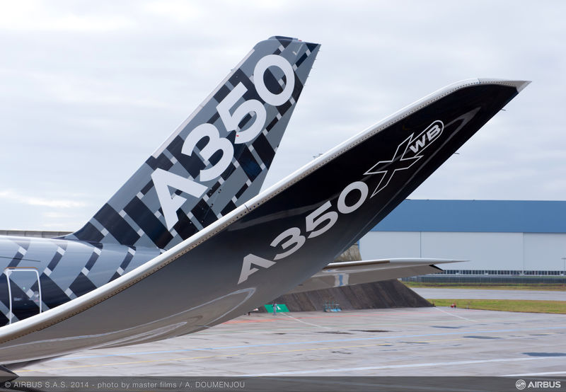 cola carbono avion airbus