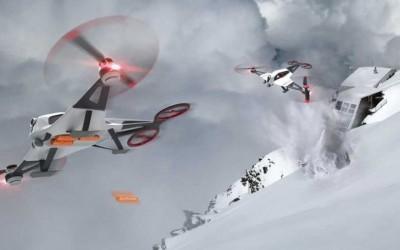 Llega la Primera Red de telefonía Móvil concebida  por Drones
