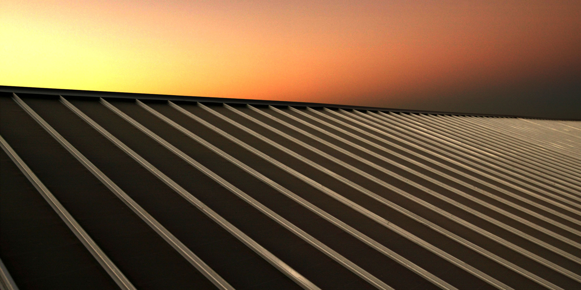 solar panel night