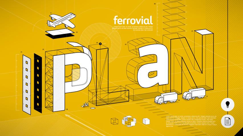 Ferrovial, la primera multinacional en el sector de las infraestructuras en utilizar drones