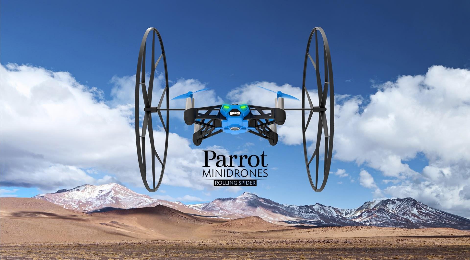 Rolling Spider de Parrot