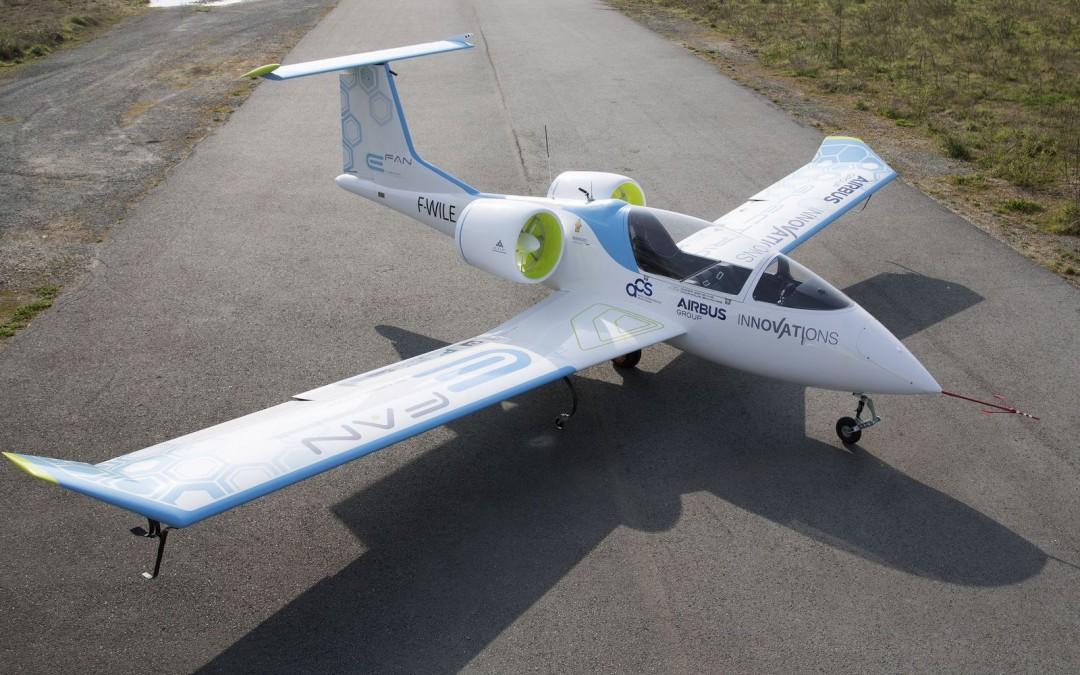 Airbus presenta su Primer Aeroplano Totalmente Eléctrico, el E-Fan