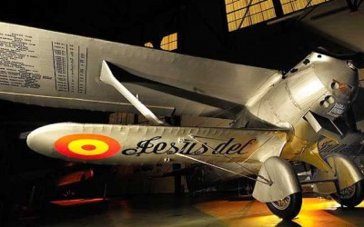 Visita de los alumnos de Ixtitute al Museo del Ejército del Aire